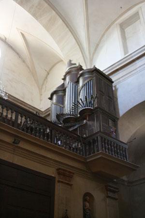 Las Rutas Palentinas del Órgano Barroco