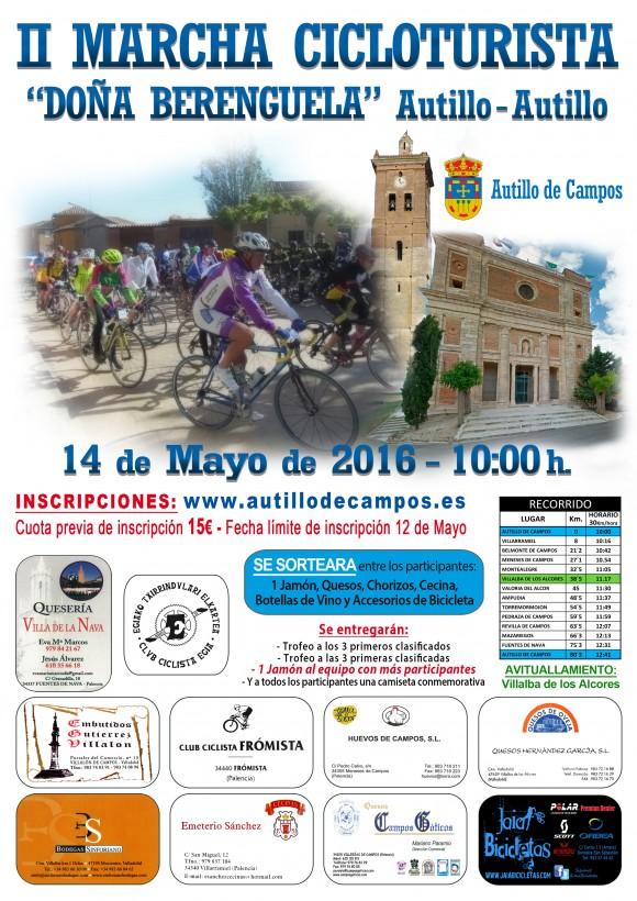 CARTEL_2ª Marcha Cicloturista_2016_A4
