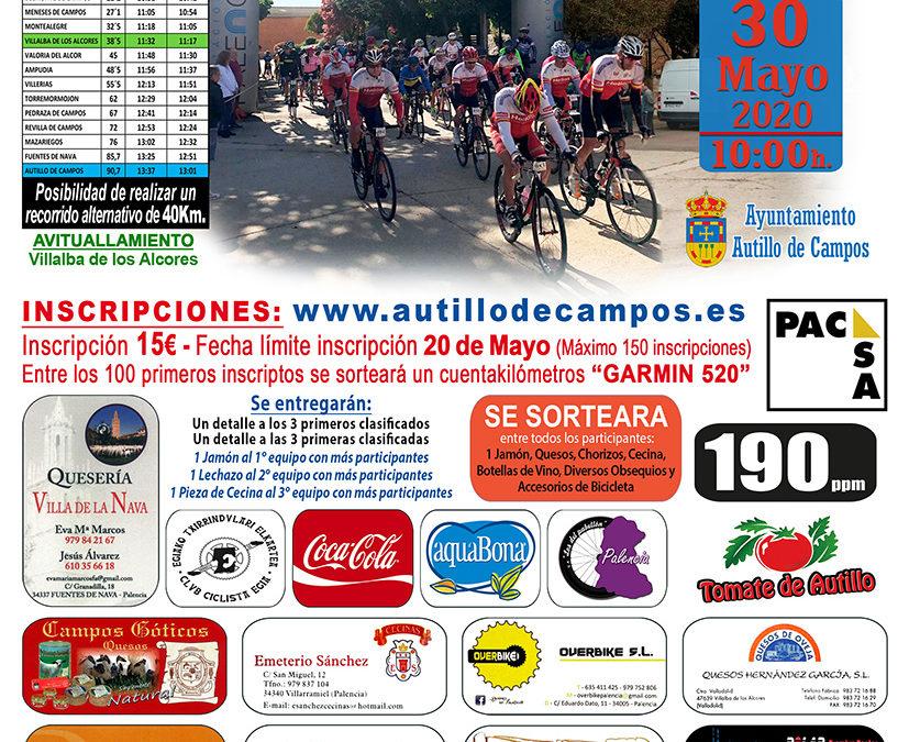 VI Marcha cicloturística «Doña Berenguela» 2020